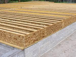 Leveling Floors In Old House by Raised Wood Floors Apa The Engineered Wood Association