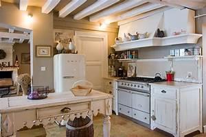 Cuisine Ancienne Campagne : une cuisine l 39 ancienne ~ Nature-et-papiers.com Idées de Décoration