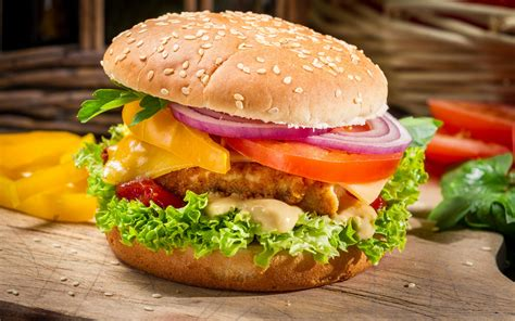 cuisine burger burger hd wallpaper and background image 2880x1800