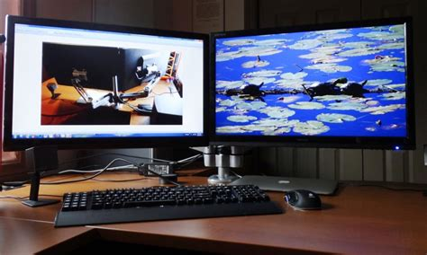 Dual Computer Monitor Stand by Rosewill Rhms 13002 Dual Swing Arm Monitor Mount Review