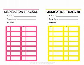 high quality images for free printable medication tracking chart
