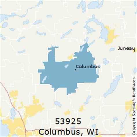 places    columbus zip  wisconsin