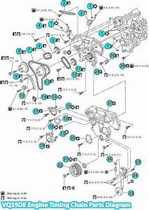 Nissan Murano Z50 Timing Chain Parts Diagram  Vq35de Engine