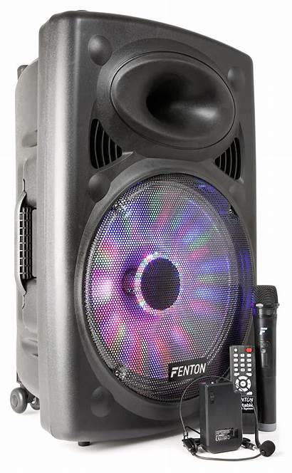 Portable Speaker Sound Inch System Systems Pa