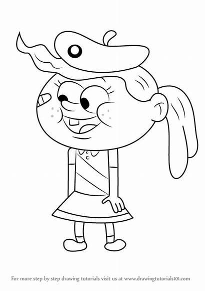 Grandpa Uncle Draw Drawing Emily Step Cartoon