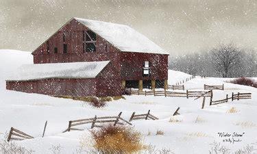 winter storm framed print  billy jacobs
