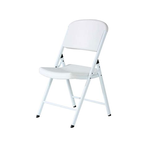 32 pack lifetime chairs white plastic sale today in bulk