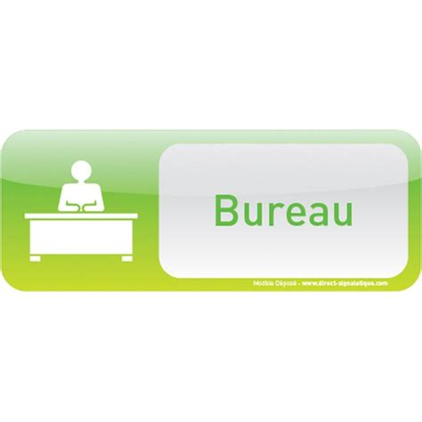 icone pour bureau plaque de porte bureau text icone direct signalétique