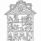 Coloring Pages Haunted Interior Rooms Printable Colouring Houses Print Google Entitlementtrap Paper Awesome Sheets Basford Johanna Colorings Getcolorings Colour Depuis sketch template