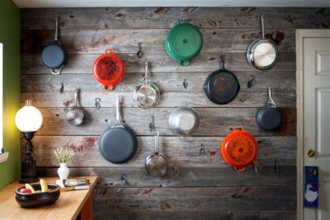 hanging pots and pans on wall 35 easy creative diy wall ideas for decoration