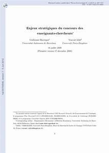 Enjeux stratég... Guillaume Haeringer