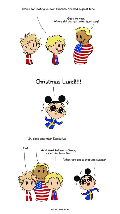 merry disney christmas scandinavia   world