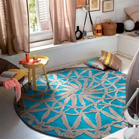 osez le tapis rond pour  interieur tres  la mode