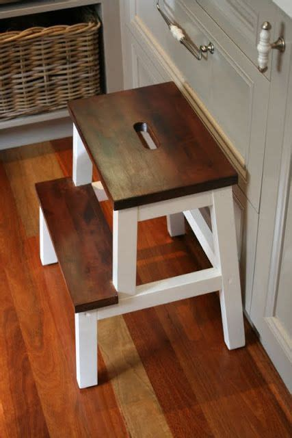 transforming an ikea step stool ikea step stool ikea