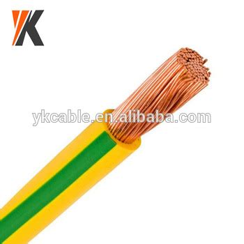 h07v k 1 5mm2 h05v k h07v k 1 5mm2 2 5mm2 4mm2 6mm2 yellow green grounding cable buy yellow green grounding
