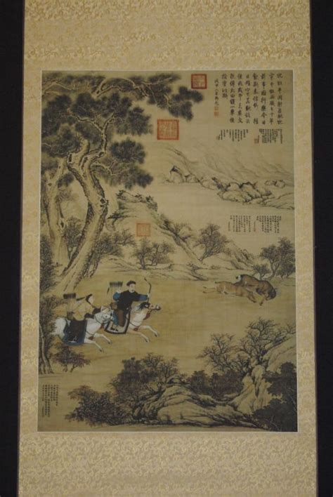 le en papier de riz grande sc 232 ne chinoise peinture sur papier de soie