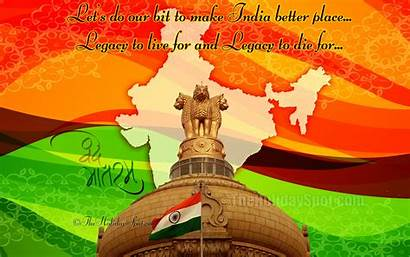 Indian Independence Wallpapers August India Map Ashok