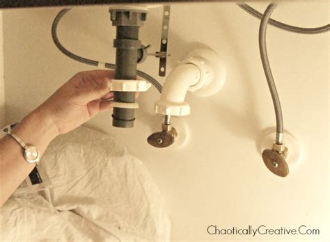 removing  bathroom faucet  replacing  chaotically
