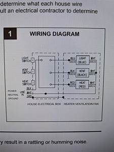 55 Inspirational Nutone Heater Fan Light Wiring Diagram In