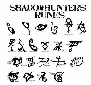 Shadowhunters runes | Shadowhunters | Pinterest