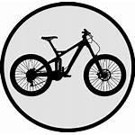 Bike Mountain Icon Reunion Vtt Icons Island