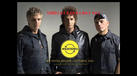 Letra Y Acordes-persiana Americana(soda Stereo)