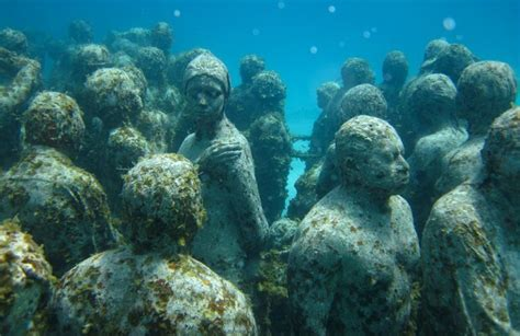 mujeres isla snorkeling mexico cancun underwater statues go island scuba museum minutes close places