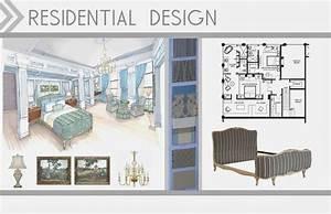 Attractive interior design student portfolio book taking for Interior design examples