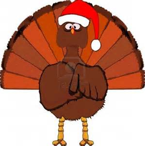 Christmas Turkey Clip Art