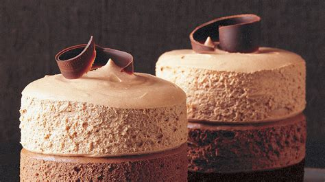 triple chocolate mousse cakes recipe martha stewart