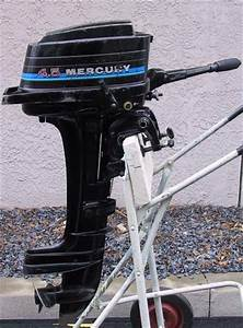 Used Mercury 4 5 Hp Outboard Boat Motor Mercury Outboards