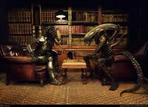 Alien Vs Predator: Chess by Benjamin Parry   3D   CGSociety