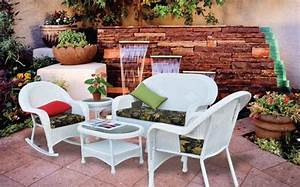 menards patio sets best backyard creations patio With deck furniture covers menards