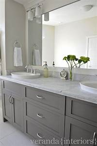 Gray Bathroom Vanities - Contemporary - bathroom - Veranda