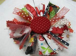 How To Make Handmade Flowers From Fabric | www.imgkid.com ...