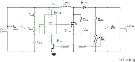 Switch Mode Power Supply Timer Boost Converter Doesn