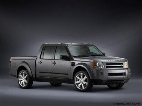 land rover pickup truck discovery pick up what do you think i love it