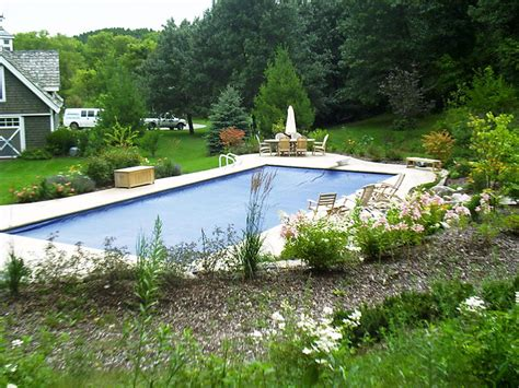 landscaping pool interesting idea for inground pool landscaping the best inground pool landscaping ideas