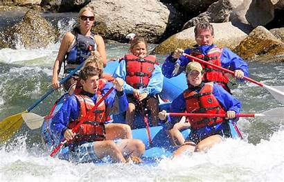 Vacation River Whitewater Guide Blended Families Water