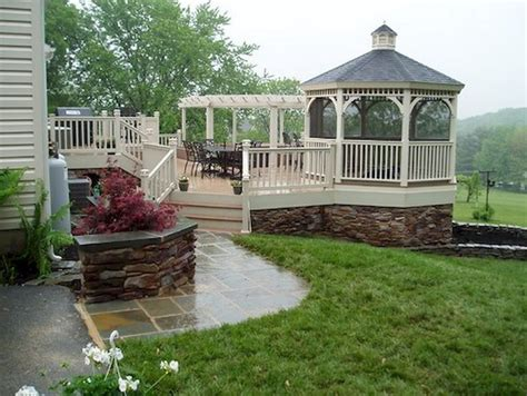 comfortable backyard gazebo design ideas