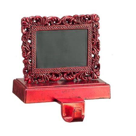 chalkboard stocking holder 6 quot alpine chic distressed frame with chalkboard holder walmart