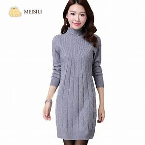aliexpresscom buy 2016 winter autumn women sweater With robe en laine femme