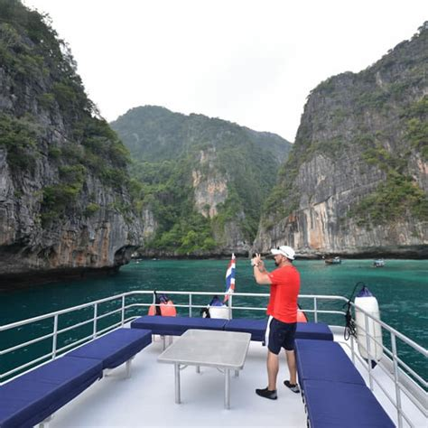 Boat From Phuket To Phi Phi by Phi Phi Island Luxury Tour From Phuket By Luxury Boat