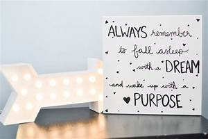 Laura rahel diy canvas wall art quote