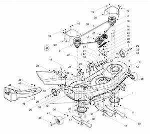Troy-bilt 14aw809h063 Parts List And Diagram