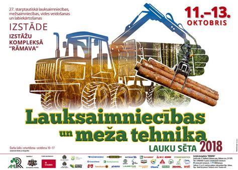 Lauksaimnieki un mežsaimnieki tiksies ikgadējā izstādē ...