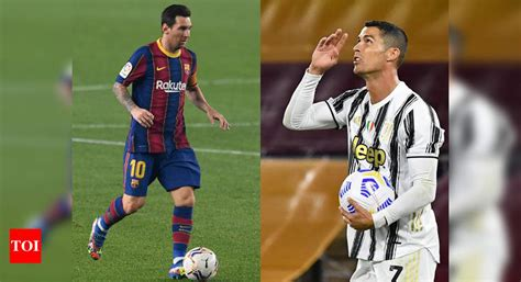 Messi vs Ronaldo in Champions League group stage as Barca ...