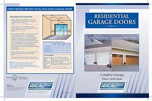 Ideal Industries Door Mf Users Manual Cover