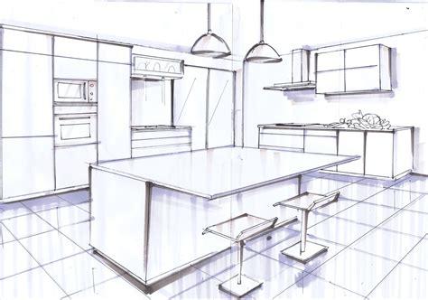 dessin d une cuisine emejing dessiner une chambre en perspective gallery