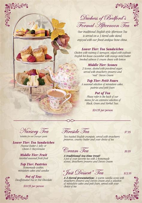 high tea menu british high tea menu copyright 2004 2014 all rights reserved two for tea pinterest